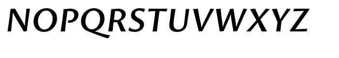 Proza SemiBold Italic Font UPPERCASE