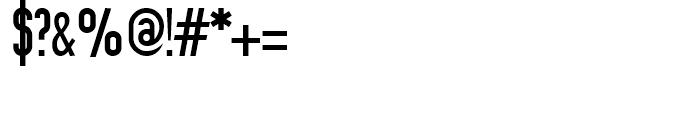 Prozak Regular Font OTHER CHARS