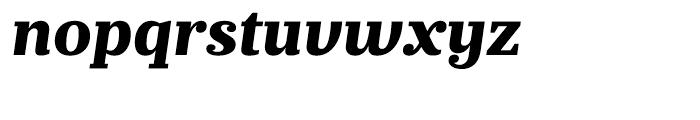 Prumo Banner Extra Bold Italic Font LOWERCASE