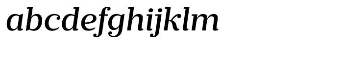 Prumo Banner Medium Italic Font LOWERCASE