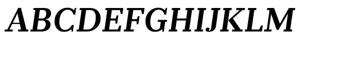 Prumo Banner Semi Bold Italic Font UPPERCASE