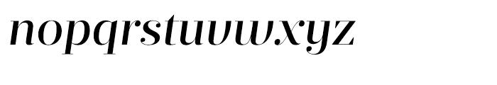 Prumo Display Medium Italic Font LOWERCASE