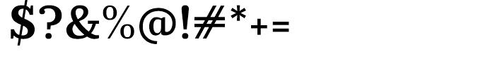 Prumo Slab Semi Bold Font OTHER CHARS