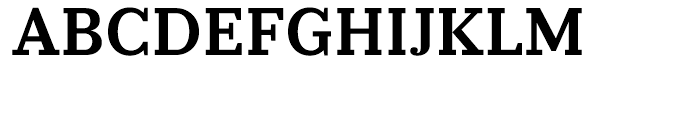 Prumo Slab Semi Bold Font UPPERCASE