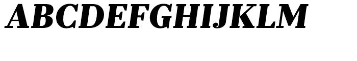 Prumo Text Black Italic Font UPPERCASE