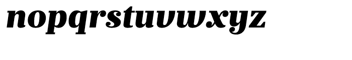 Prumo Text Black Italic Font LOWERCASE
