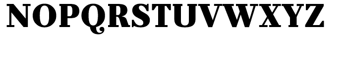 Prumo Text Black Font UPPERCASE