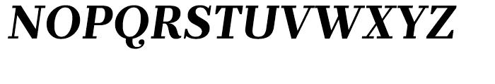 Prumo Text Bold Italic Font UPPERCASE