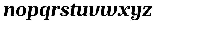 Prumo Text Bold Italic Font LOWERCASE