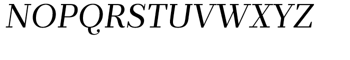 Prumo Text Book Italic Font UPPERCASE