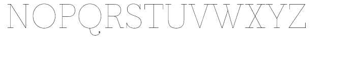 Prumo Text Hairline Font UPPERCASE