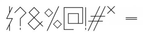 PRIMITIVE Regular Font OTHER CHARS
