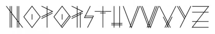 PRIMITIVE Regular Font UPPERCASE