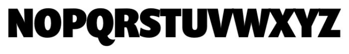 Prenton RP Cond Black Font UPPERCASE