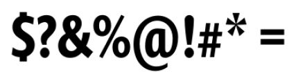 Prenton RP Cond Medium Font OTHER CHARS