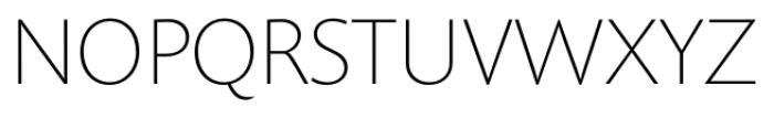 Prenton RP Display Thin Font UPPERCASE