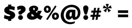 Prenton RP Pro Black Font OTHER CHARS