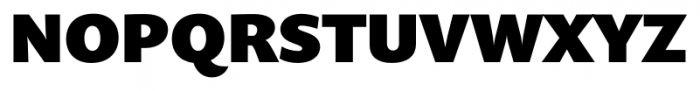 Prenton RP Pro Black Font UPPERCASE