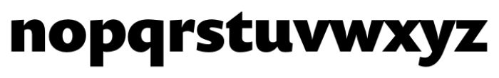 Prenton RP Pro Black Font LOWERCASE