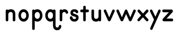 Primer Print Bold Font LOWERCASE