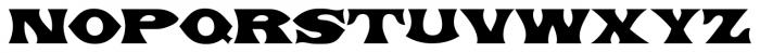 Primitive Tuscan JNL Regular Font LOWERCASE