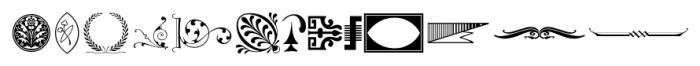 Printers Playthings JNL Regular Font LOWERCASE