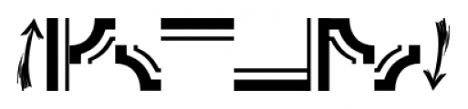 Printing Press Elements JNL Regular Font OTHER CHARS