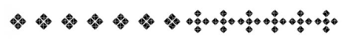Priori Acute Ornaments Font LOWERCASE