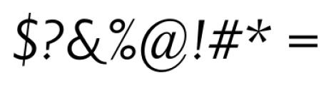 Priori Sans Italic Font OTHER CHARS
