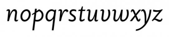Priori Sans Italic Font LOWERCASE