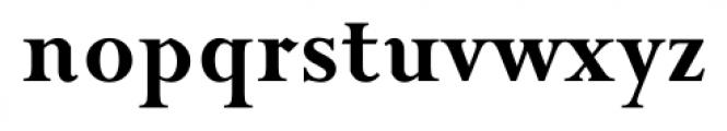Priori Serif Bold Font LOWERCASE