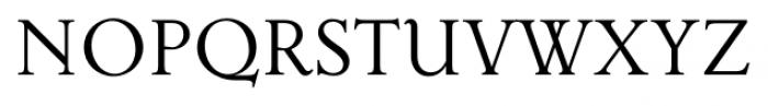 Priori Serif Regular Font UPPERCASE