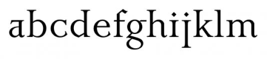 Priori Serif Regular Font LOWERCASE