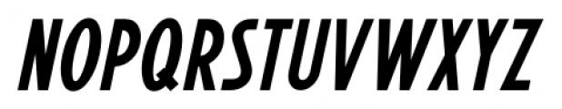 Promotional Copy JNL Oblique Font UPPERCASE