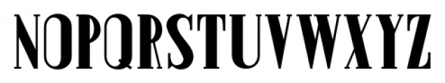 Prospect Heights Solid JNL Regular Font LOWERCASE