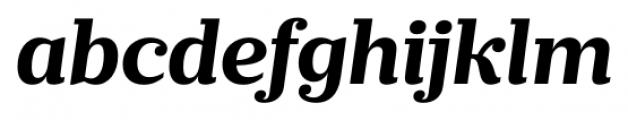 Prumo Banner Bold Italic Font LOWERCASE