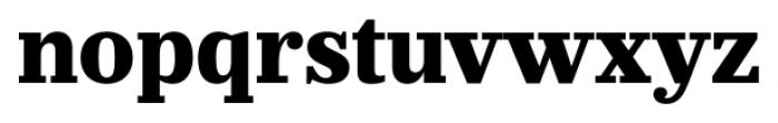 Prumo Banner Extra Bold Font LOWERCASE