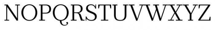 Prumo Banner Light Font UPPERCASE