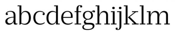Prumo Banner Light Font LOWERCASE