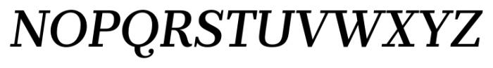 Prumo Banner Medium Italic Font UPPERCASE