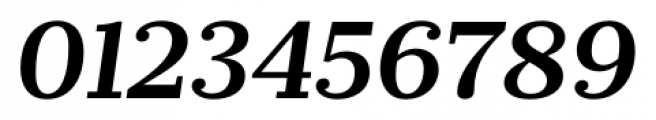 Prumo Banner Semi Bold Italic Font OTHER CHARS