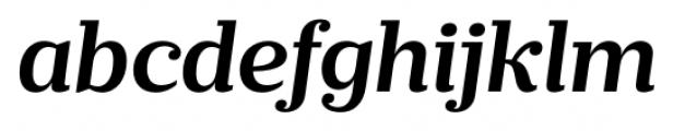 Prumo Banner Semi Bold Italic Font LOWERCASE