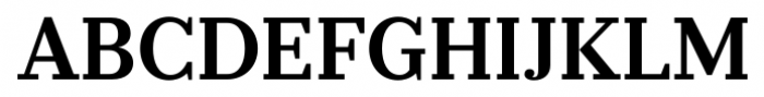 Prumo Banner Semi Bold Font UPPERCASE
