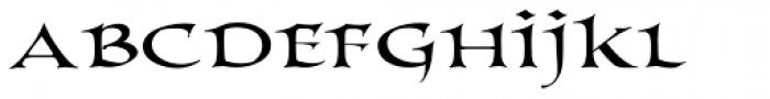 PR Columban Primus Font LOWERCASE