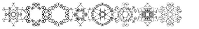 PR-Snowflakes-01 Font UPPERCASE