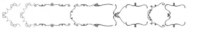 PR-Swirlies-01-Frames Font LOWERCASE