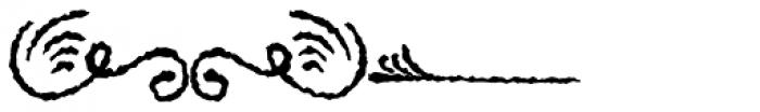 PR Swirlies 01 Sand Drift Font UPPERCASE
