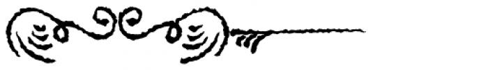 PR Swirlies 01 Sand Drift Font LOWERCASE