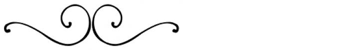 PR Swirlies 10 Font LOWERCASE