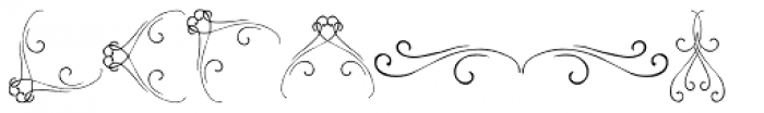PR-Swirlies-12 Font LOWERCASE